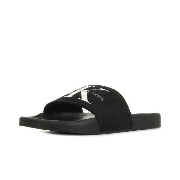 Tongs Calvin Klein Viggo Heavy Canvas Black
