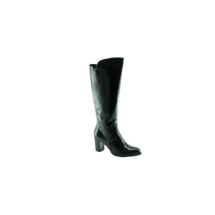 pointures noir à Mode Femme Botte marques cuir Biniparell petites luxe tailles Plumers chaussure talon 5jLAqR43