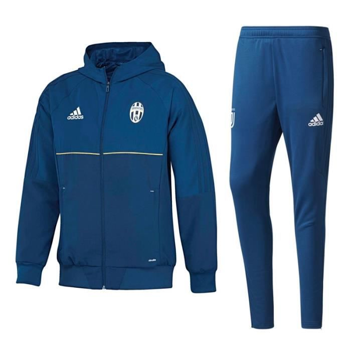 survetement training adidas juventus foot 2018 prix pas cher cdiscount. Black Bedroom Furniture Sets. Home Design Ideas