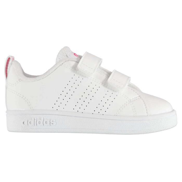 Adidas Advantage Clean Baskets Fille Blancrose Achat