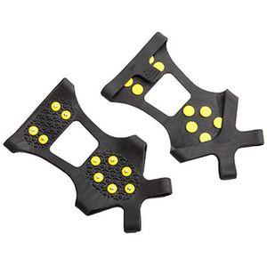 CRAMPON POUR GLACE Paire Sur Chaussures Crampons Neige Glace S (31-36