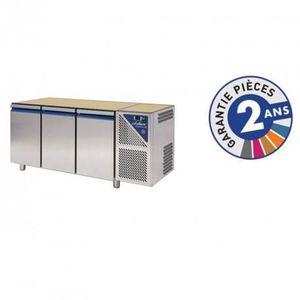 ARMOIRE RÉFRIGÉRÉE Table réfrigérée positive 460 L - 3 portes  groupe