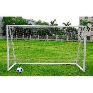 CAGE DE FOOTBALL Kids Junior 12Ft X 6Ft White Portable Football Goa