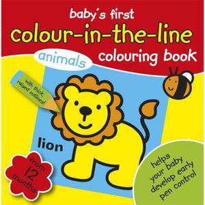 LIVRE DE COLORIAGE Mon livre de coloriage bébé & # 8217; First Colori