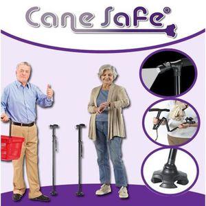 CANNE - BÉQUILLE  'cane Safe' Canne De Marche Pliable