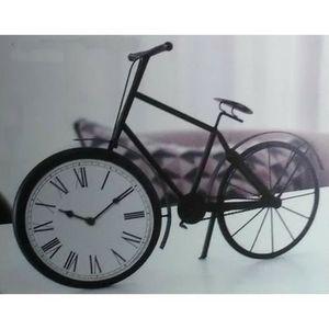 HORLOGE - PENDULE HORLOGE PENDULE RETRO VELO BICYCLETTE FER FORGE ME