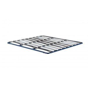 SOMMIER litflex, sommier à lattes larges - Bleu 140 x 200