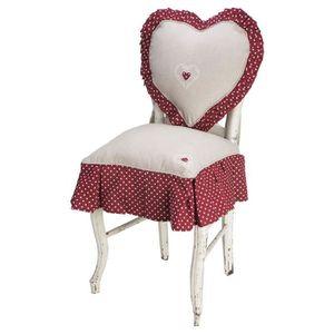 HOUSSE DE CHAISE DEKOANDCO Petite housse de chaise Axelle
