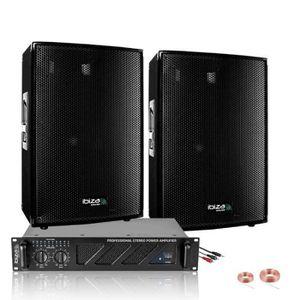 PACK SONO ZUMBA PACK SONO 600W + AMPLI 480W + ENCEINTES 2X30