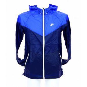 Veste Nike Summerized Windrunner… Bleu Bleu Achat Vente