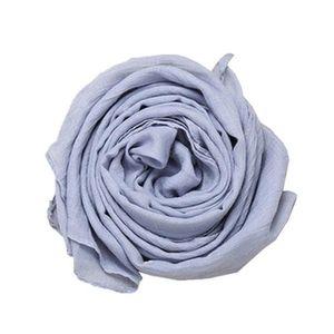 Multifonction Foulard /Écharpe Tube de Cou Coeur Blanc sur Bleu Clair la Taille Enfant