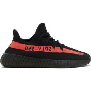 Yeezy 350 noir rouge - Cdiscount