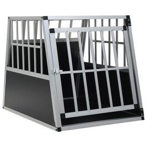 CAISSE DE TRANSPORT Cage pour chien avec une porte 65 x 91 x 69,5 cm