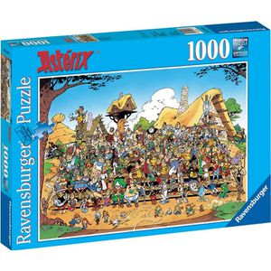 PUZZLE ASTERIX Puzzle Photo De Famille 1000 pcs