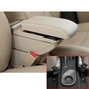 Pour Kaptur Captur QM3 14-17 Avanc/ée Voiture Accoudoir Accessoire Avec fonction de charge 7 ports USB /éclairage LED Interne Noir