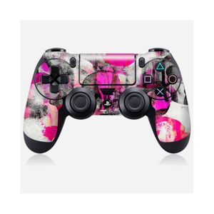 STICKER - SKIN CONSOLE Skin manette Sony Playstation 4 Design A touch of