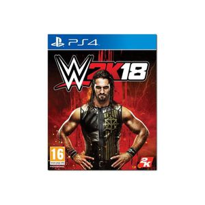JEU PS4 WWE 2K18 PlayStation 4