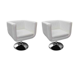 fauteuil design blanc achat vente fauteuil design blanc pas cher cdiscount. Black Bedroom Furniture Sets. Home Design Ideas