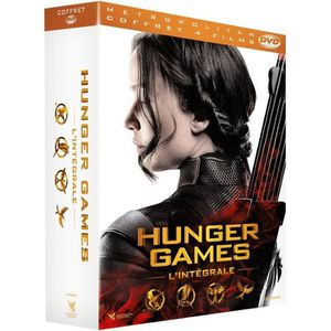 DVD FILM Coffret Hunger Games - 4 films - En DVD