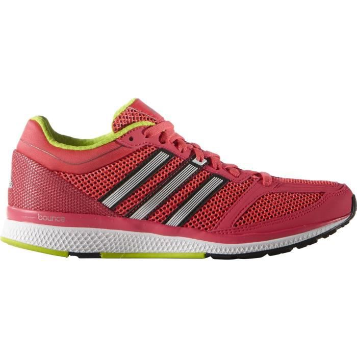 Rose Zéro Chaussures Running Femme Adidas Pour Bounce Performance Onk8X0wP