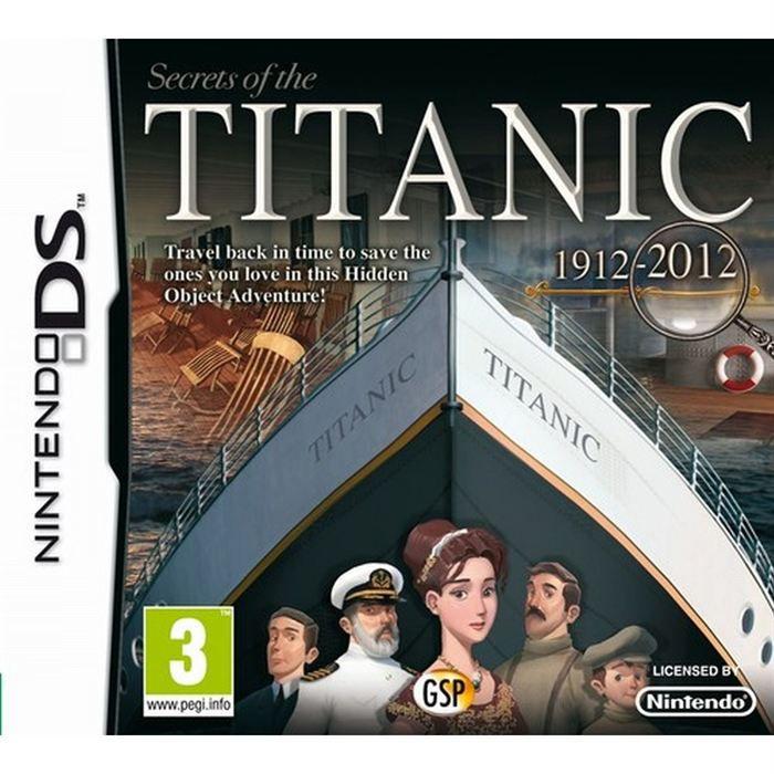 LES SECRETS DU TITANIC / Jeu console DS
