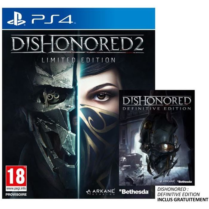 JEU PS4 Dishonored 2 Limited Edition Jeu PS4