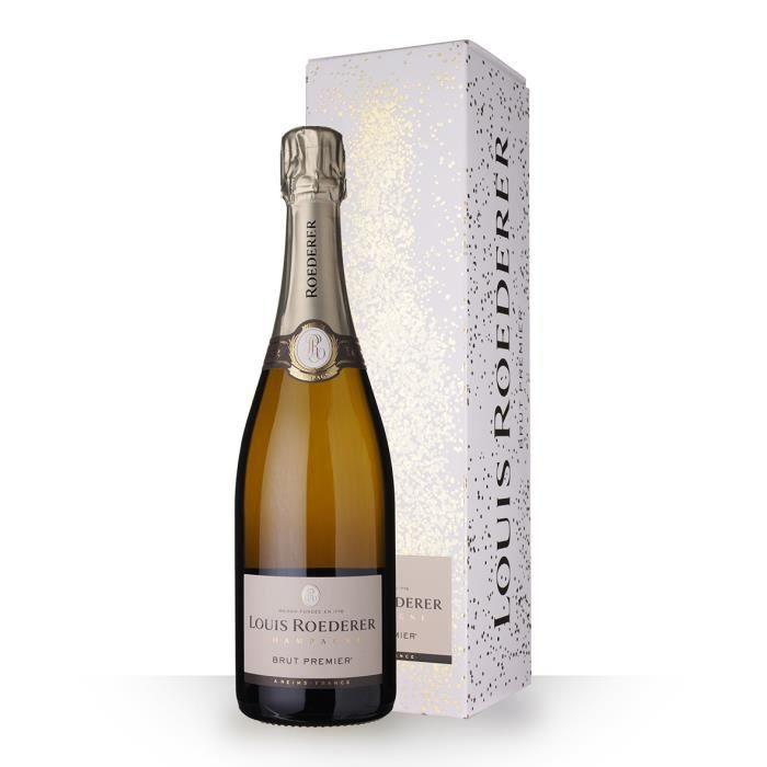 Louis Roederer 1er Brut 75cl - Etui - Champagne