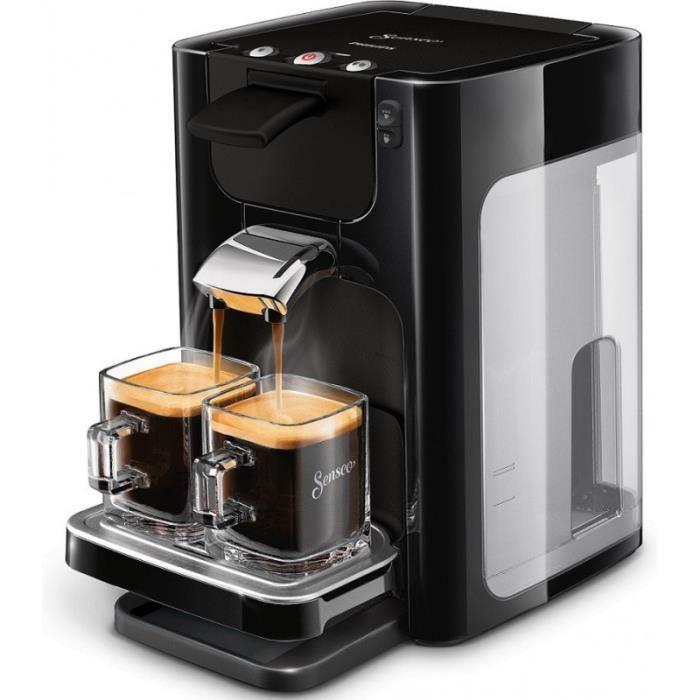 Cafetière Philips - Senseo Quadrante Noir (HD7866/61) - Villatech