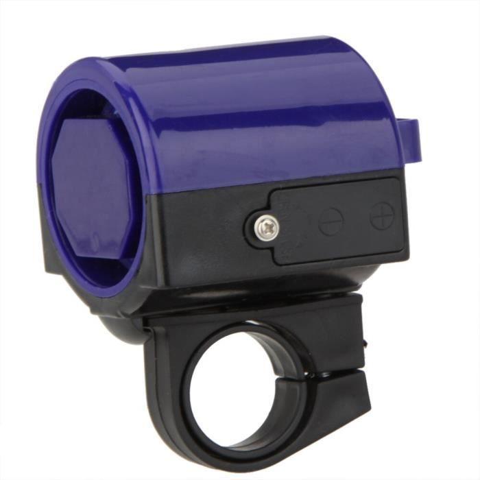 BLUE -Sonnette électronique de haute qualité pour vtt et vélo de route, sonnette forte, support de sirène, accessoires de vélo, vent