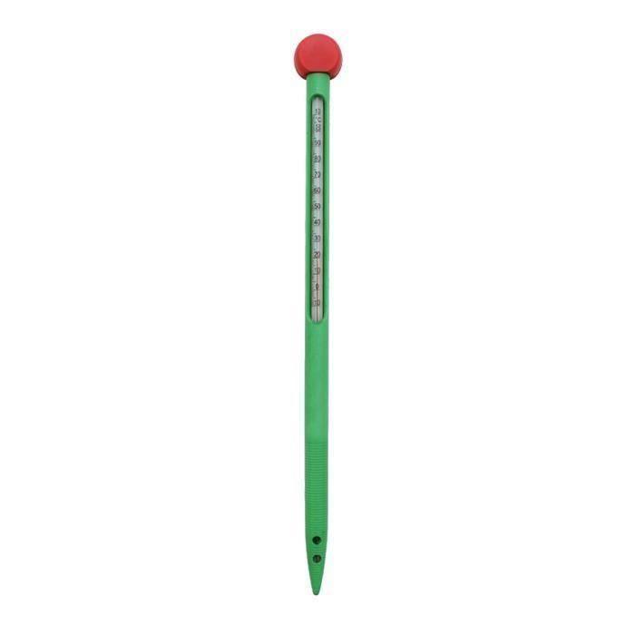 1 PC Thermomètre de sol spécial -10-110 ° de surface de la terre à tige de verre intégré pour le jardin MATERIEL ENTRETIEN MANUEL