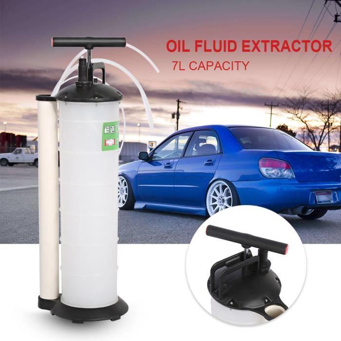 Kit de vidange moteur pompe aspiration huile liquide manuelle machine vidange carburant vide automobile voiture 7L -PAI