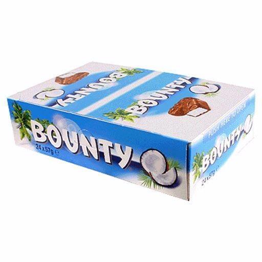 Bounty Lait (lot de 2)
