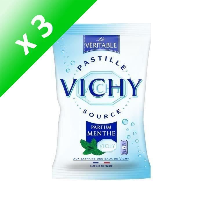 [LOT DE 3] VICHY Bonbons Vichy Menthe - 230 g