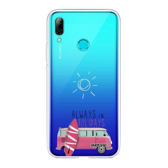 Coque Huawei PSmart 2019 360 intégrale transparente Always in holidays Ecriture Tendance Design Evetane