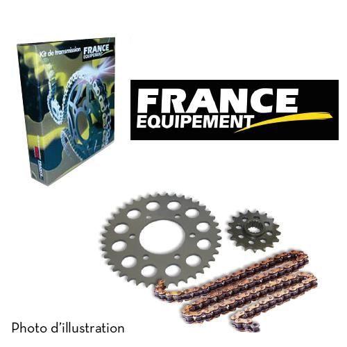 Kit Chaine France Equipement Kawasaki KLX 110 A1 '02