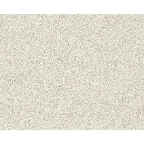 Livingwalls Titanium Uni-Ball Papier peint, papier peint structure brun métallique 315410, beige, 315434