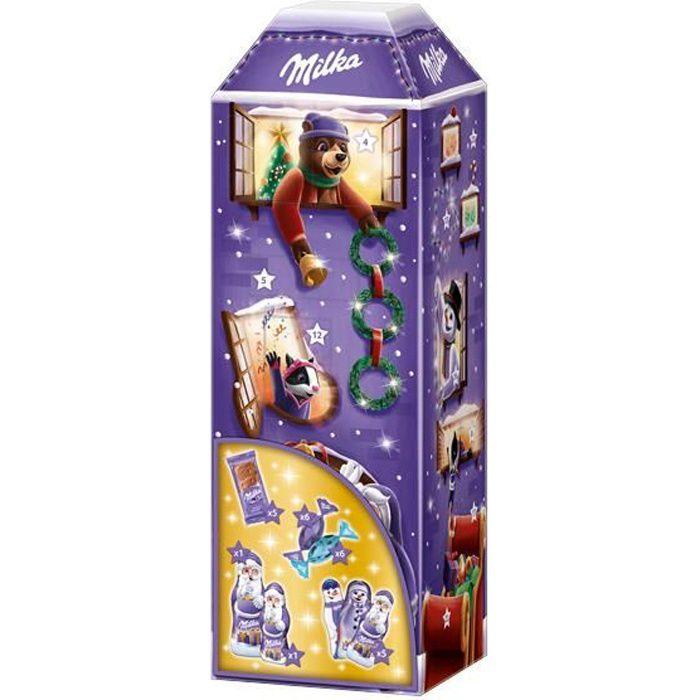 Milka 3D Maison Calendrier de l'Avent 229g