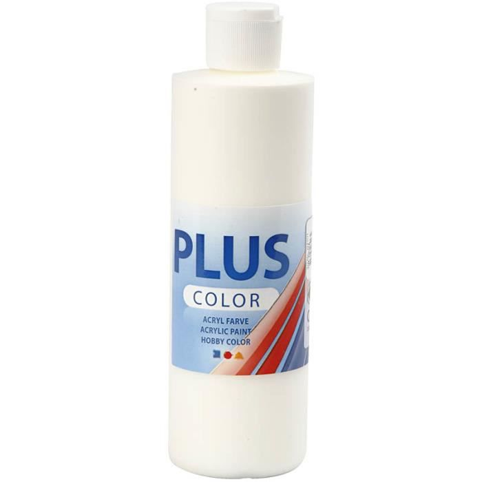 Peinture acrylique satinée de qualité, couleurs intenses et très couvrantes. Sèche rapidement et laisse une surface mate satinée .
