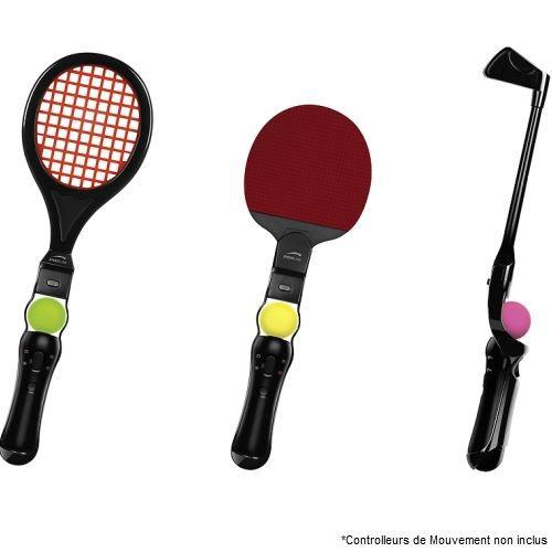 PS3 Move Sport Pack Golf + Tennis + Ping Pong