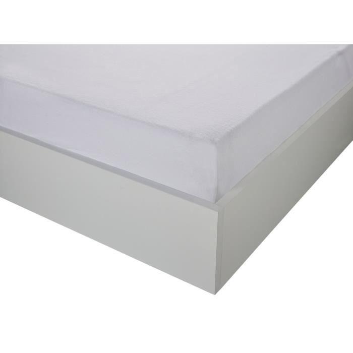Protège matelas coton absorbant 90x190 BIEN -ETRE