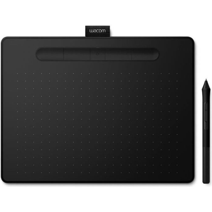 WACOM Tablette Graphique Intuos M Bluetooth - Black