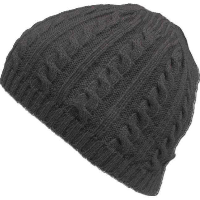 Tricot Torsadé Hiver Chaud Crochet Hat Tressé Baggy Beret