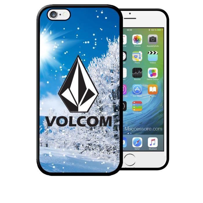 Coque iPhone 7 7s VOLCOM Snow Skate Surf Neige Spo