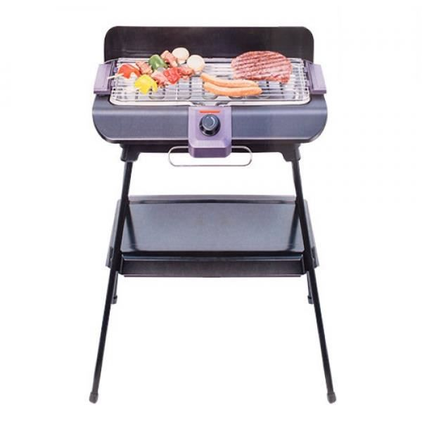barbecue lectrique sur pieds achat vente barbecue lectrique sur pieds pas cher cdiscount. Black Bedroom Furniture Sets. Home Design Ideas