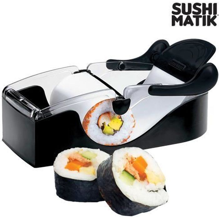 machine sushi sushi matik achat vente kit cuisine asiatique machine sushi sushi matik. Black Bedroom Furniture Sets. Home Design Ideas