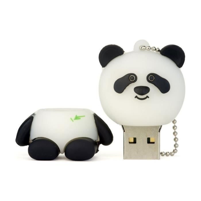 go4u creative cl usb en forme de panda 8 go prix pas. Black Bedroom Furniture Sets. Home Design Ideas