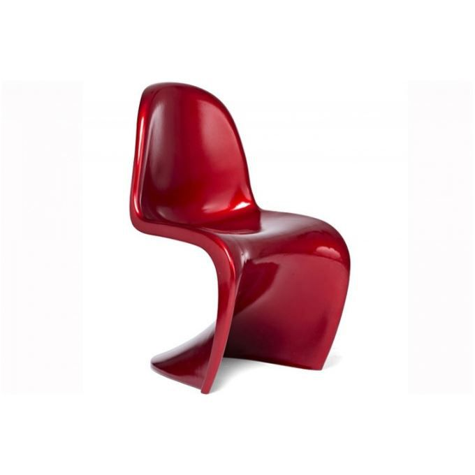 chaise design phantom rouge achat vente chaise rouge cdiscount. Black Bedroom Furniture Sets. Home Design Ideas