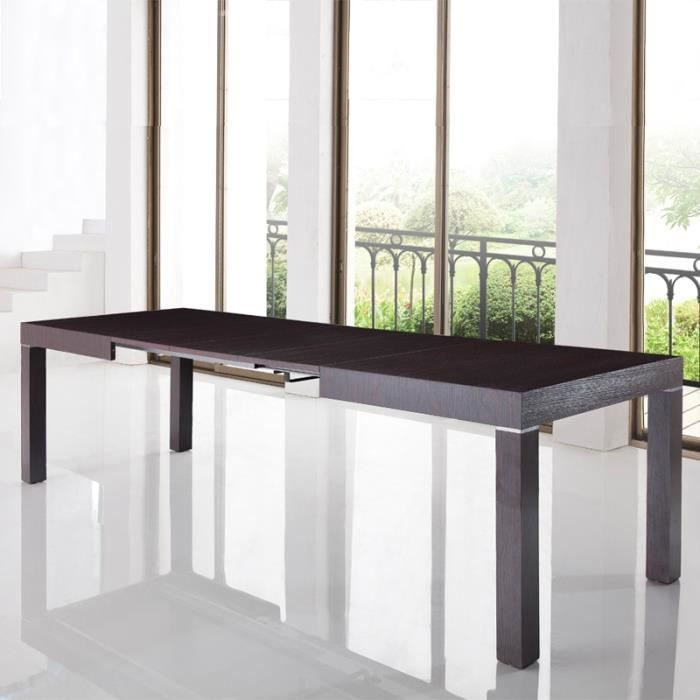 Table manger avec rallonge integree for Petite table a manger avec rallonge