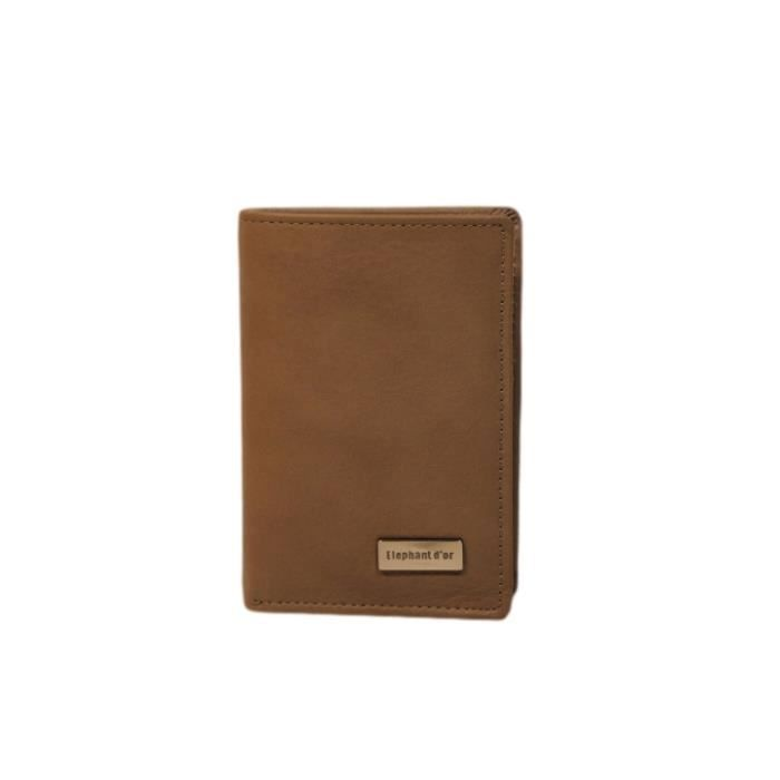 Porte cartes cuir couleur taupe taupe or achat vente porte carte 2009975300434 cdiscount for Porte couleur taupe