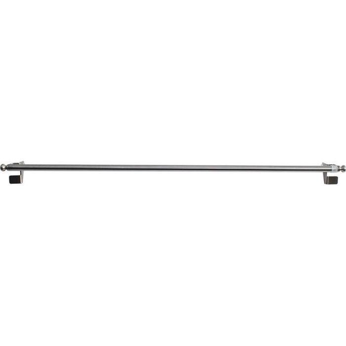 TRINGLE A RIDEAU Tringle Extensible de 9 mm à Fixation Rapide Argen